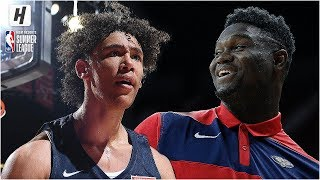 New Orleans Pelicans vs Chicago Bulls - Full Game Highlights | July 8, 2019 NBA Summer League