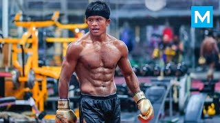 Buakaw Training for Next Fight | Muscle Madness