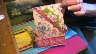 """Home made birthday cards for my Mothers """"80th"""" Birthday!"""