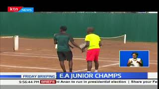 Kenyans shine at the Eastern Africa Junior Tennis Championships in Nairobi