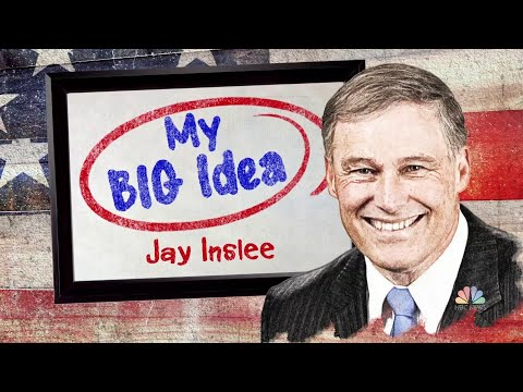 Jay Inslee Shares His 'Big Idea' For Combating The Climate Crisis | NBC Nightly News