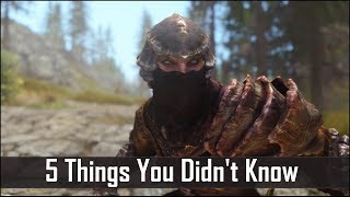 Skyrim: 5 Things You Probably Didn't Know You Could Do - The Elder Scrolls 5: Secrets (Part 5)