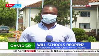 Will schools re-open? CS Magoha receives final report, team, to advice on whether to re-open or not