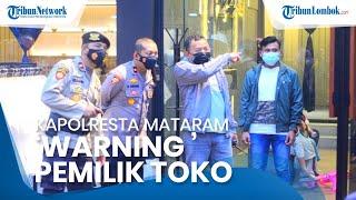 Pusat Perbelanjaan Diserbu Warga Jelang Lebaran, Kapolresta Mataram 'Warning' Pemilik Toko