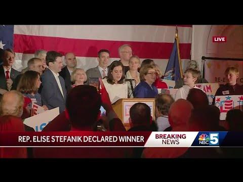 Elise Stefanik Wins Re-Election (WPTZ)