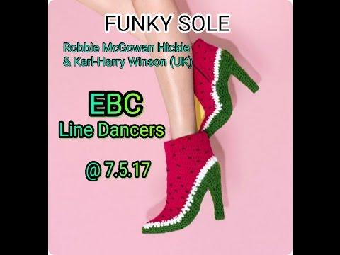 FUNKY SOLE (Robbie & Karl) : EBC Line Dancers @ 7 5 2017