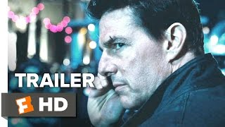 Jack Reacher Never Go Back Official Trailer 1 2016  Tom Cruise Cobie Smulders Movie HD