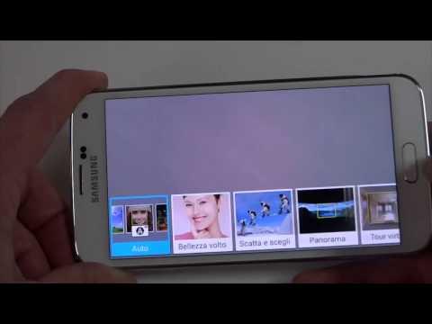 Foto Samsung Galaxy S5: Video focus sulla fotocamera