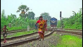 Rupsha Express (Chilahati to Khulna) train hauled by 6514/WDM-3A Locomotive / Bangladesh Railway