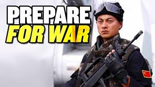 "China Must ""Prepare for War:"" Xi Jinping | India and China Military Build Up thumbnail"
