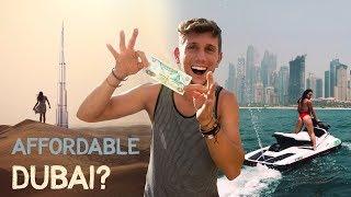 How to TRAVEL DUBAI on a BUDGET - Enjoy Luxury CHEAP