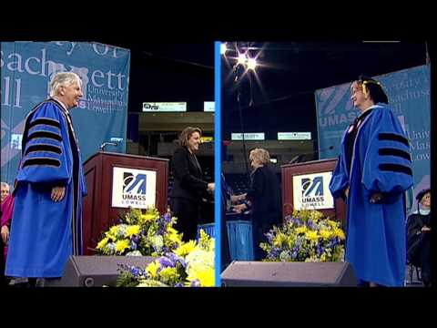 Graduate School of Education Masters Degrees - UMass Lowell 2013 Graduate Commencement (2:14)