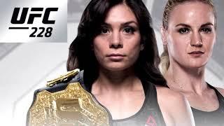 UFC 228: Никко Монтаньо против Валентины Шевченко