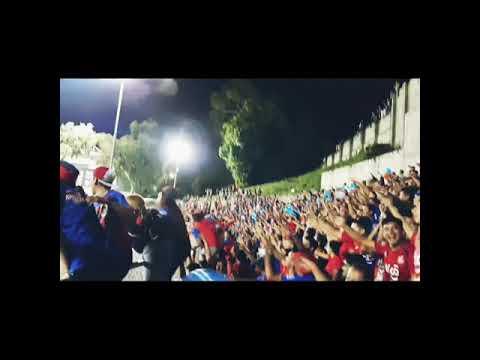 """Turba Roja_En las Delicias_Semifinal IDA"" Barra: Turba Roja • Club: Deportivo FAS"