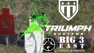 Triumph Systems brings somve very cool targets to Big 3 East 2016
