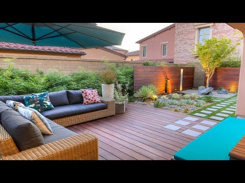 Modern Ideas Small Backyard Homes & Gardens Design