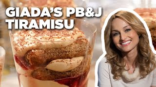 Peanut Butter And Jelly Tiramisu With Giada De Laurentiis | Food Network