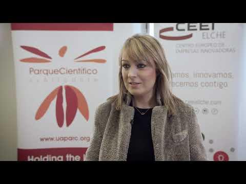 Raquel Iniesta de Grupo Iniesta en el HUB de Innovación Colaborativa[;;;][;;;]