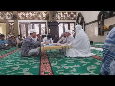 Dua Kakak Beradik Resmi Masuk Islam di Masjid Al Falah Darul Muttaqin
