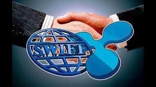 XRP Swift NO Partnership But still have 10% of there Business XRP gos up to15$