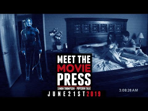 Meet The Movie Press: Hunger Games prequel, Paranormal Activity + Toy Story 4 & Child's Play review