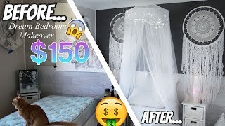 Boho Bedroom Makeover $ Budget Hacks & Ideas