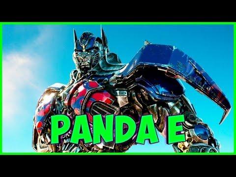 Оптимус Робот поет Panda E (CYGO)