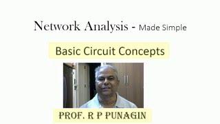 Network Analysis - Open Circuit Concept