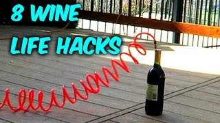 8 Wine Bottle Opens | Life Hacks