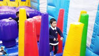 น้องบีมลูกแม่บี | เล่นสวนสนุกฮาร์เบอร์พัทยา Indoor Playground คลิปเต็ม
