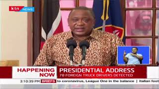 President Uhuru thanks those who have helped in curbing spread of COVID-19