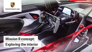 Mission R: interior highlights of the all-electric concept racecar