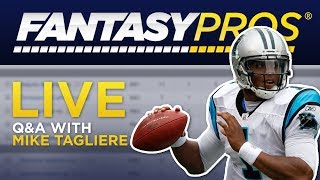 Fantasy Football Q&A + Signed Mystery Helmet Giveaway! (Aug 19, 2019)