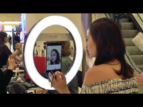 Armani Beauty Virtual Try-on Event at Nordstrom Valley Fair