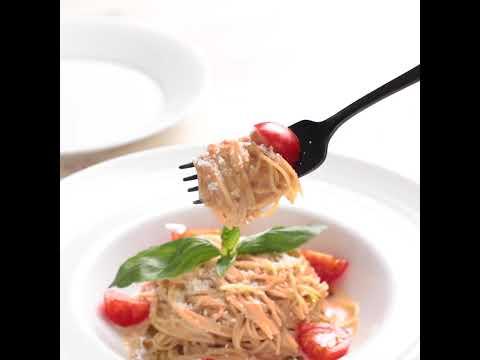 暑い夏に食べたい冷製パスタ!!「トマトの冷製クリームパスタ」