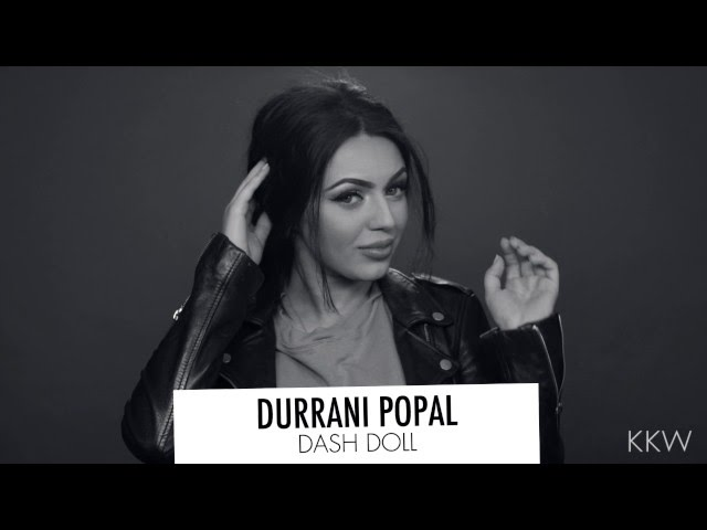 Durrani Popal Tried the Fallen Knot Braid by Kevin Murphy for the Kim K App