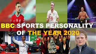 Nominations for BBC Sports Personality of the Year 2020