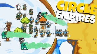 UNSTOPPABLE GIANT Frog Army! - Cirlcle Empires