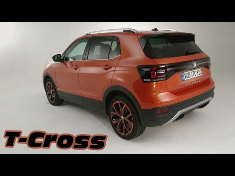 vid o volkswagen t cross 2019 bord du nouveau suv urbain l 39 argus. Black Bedroom Furniture Sets. Home Design Ideas