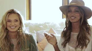 Виктория Сикрет / Victoria's Secret Angels Talk Summer