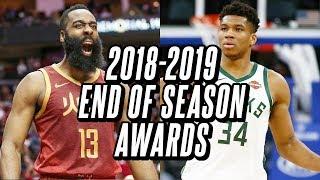End Of Season Awards For The 2018-2019 NBA Season
