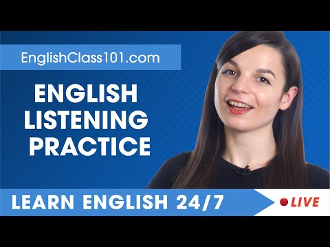 Download Learn English Live 24/7 🔴 English Listening Practice - Daily Conversations ✔ Mp4 HD Video and MP3