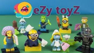 Minions The Smurfs Surprise Mistery Blind Bags The Simpsons Mega Bloks LEGO Minifigures