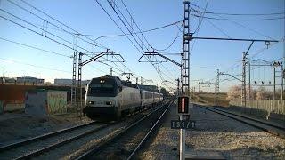 preview picture of video 'Renfe 252.044 con ARCO por Valdemoro'