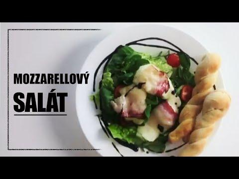 Obědový salát s mozarrelou - rychlé vaření