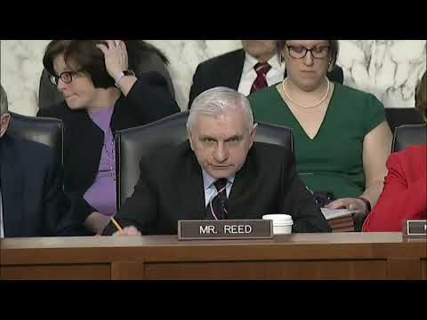 Reed Questions Secretary Esper at SASC Hearing on DoD Budget