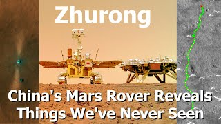 China's Mars Rover Zhurong Has Completed Its Primary Mission, Reaches New Milestone