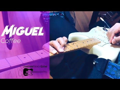 "Check out this tutorial for ""Coffee"" by Miguel! It's a really fun song to play, sign for lessons with me today!"