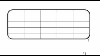 طريقة عمل جدول بحواف منحنية على word 2010