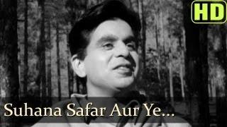 Suhana Safar Aur Ye - Madhumati Songs - Dilip Kumar - Vyjayantimala - Mukesh